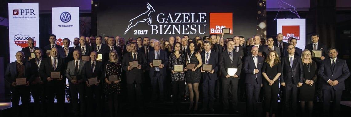 """TLC  """"Gazelą Biznesu"""" w 2017 roku!"""