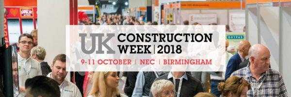 TLC wystawcą na największych brytyjskich targach budowlanych UK Construction Week 09-11.10.2018