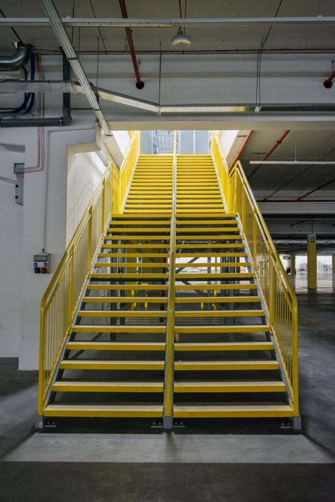 schody techniczne