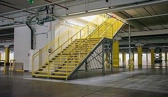 schody przemysłowe zewnętrzne