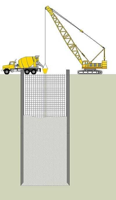 ściana szczelinowa wallzip budowa