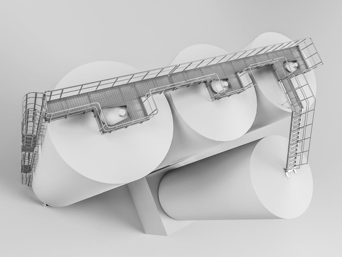 platformy stalowe