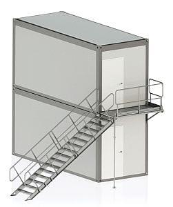 schody kontenerowe