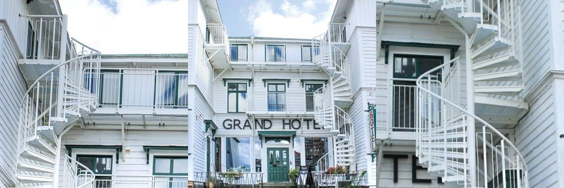 Właściciele Grand Hotel w szwedzkim Lysekil dbają o bezpieczeństwo swoich gości