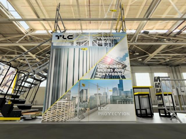 Stoisko TLC targi UK Construction Week Birmingham