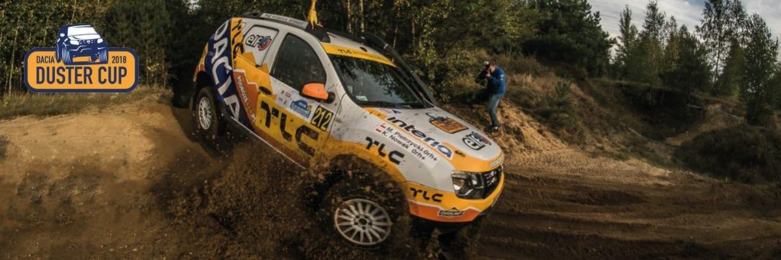 Barwy TLC na ostatnim rajdzie terenowym Dacia Duster Cup