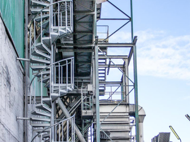 Schody Spiralne TLC dla Lafarge Cement SA