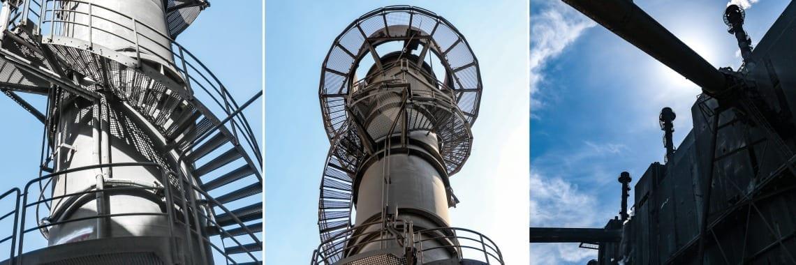 Dostarczyliśmy kompleksowy system komunikacyjny do komina gazu czystego