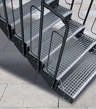 schody modułowe krata