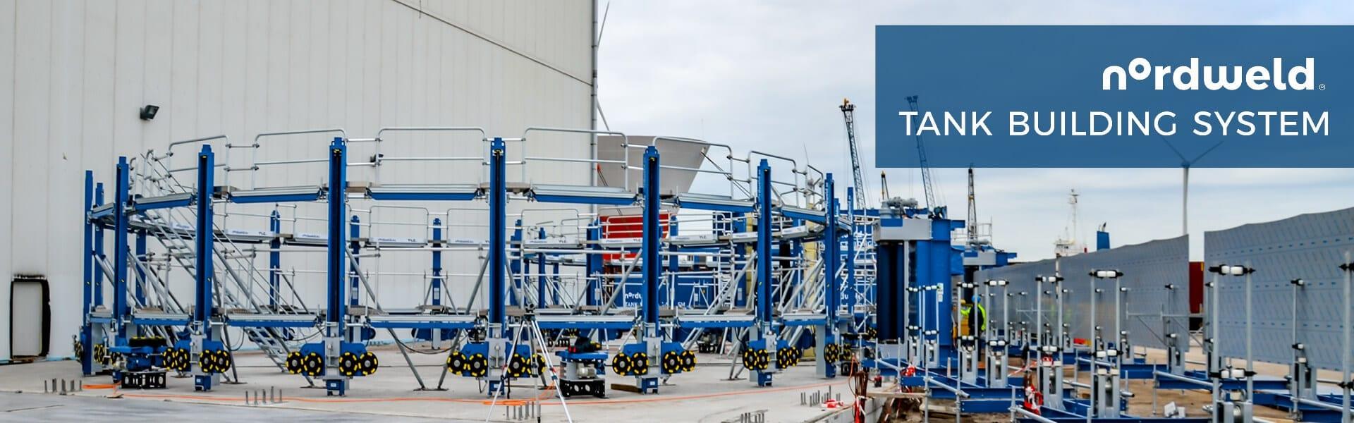 Nordweld - budowa zbiorników wielkogabarytowych