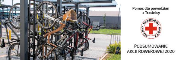 TLC z pomocą dla powodzian – podsumowanie akcji rowerowej