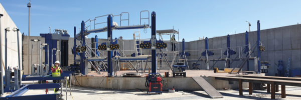 Urugwaj. Nowe zbiorniki wielkogabarytowe pną się w górę!