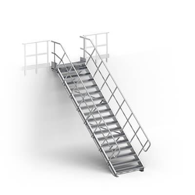 schody modułowe podest