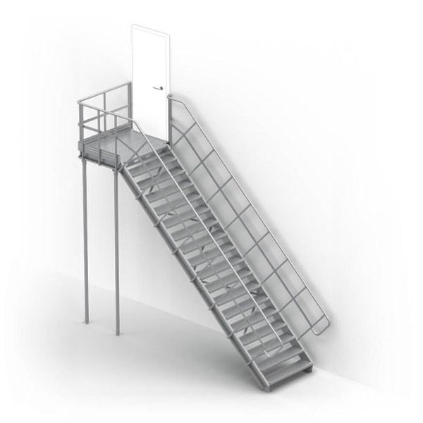 schody modułowe LINEA wariant