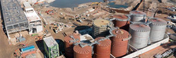 Urugwaj – budowa 11 zbiorników stalowych